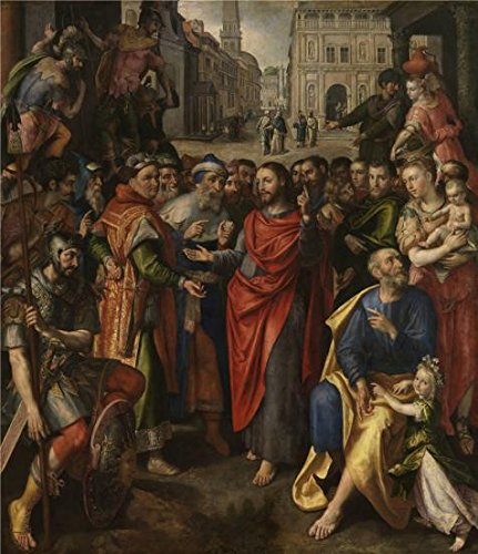 Oil Painting 'Maerten De Vos - Altarpiece Of The Guild Of The Minters, 1602' 10 x 12 inch / 25 x 29 cm , on High Definition HD canvas prints, gifts for Dining Room, Game Room And Home Theater decor (Hot Air Balloon Hamper)
