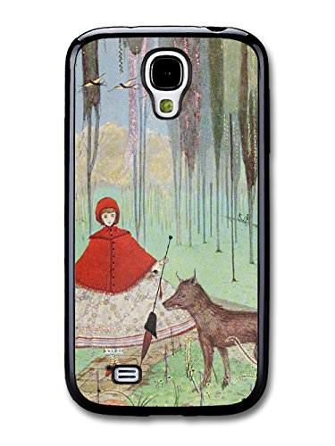 Vintage Fairy Tale Red Riding Hood Cool Illustration Style Fashion Design coque pour Samsung Galaxy S4