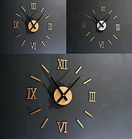 Digital Wall Clock Big Modern Design Clocks Large Decorative ...