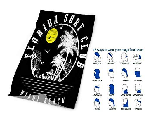 Headbands Summer Beach Retro Stylequick Dry Microfiber Headwear Magic Bandana As