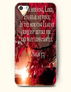 iPhone 6 4.7 Case OOFIT Phone Hard Case ** NEW ** Case with Design In The Mornig, Lord, You Hear My Voice; In The Morning I Lay My Request Before You And Wait Expectantly Psalm 6 4.7:3- Bible Verses - Case for Apple iPhone 6 4.7