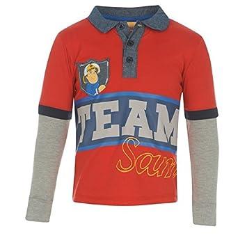 Character Kids modelo de mediados de Sam el bombero T-camiseta de ...