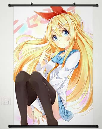 Nisekoi Kirisaki Chitoge HD Print Anime Wall Poster Scroll Room Decor
