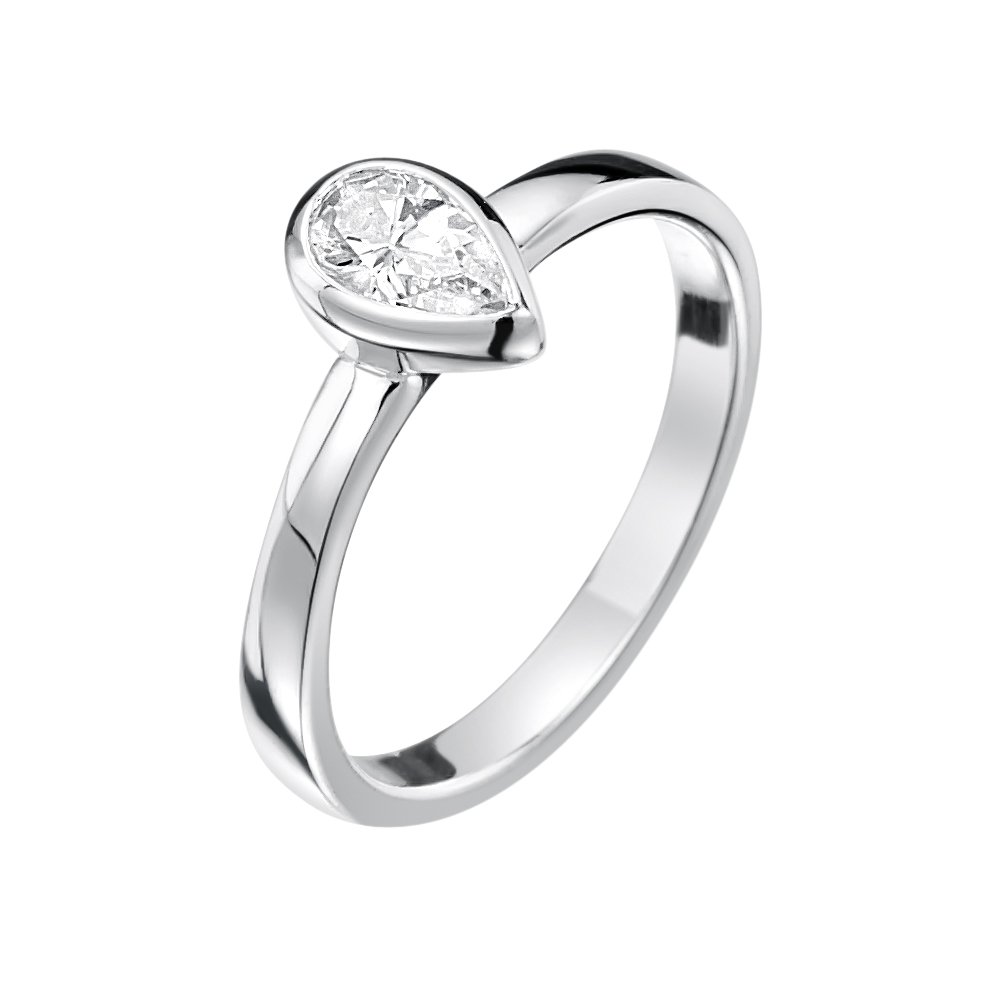 Jo for Girls - Bague - Argent 925 - Oxyde de Zirconium - JR127cz-C