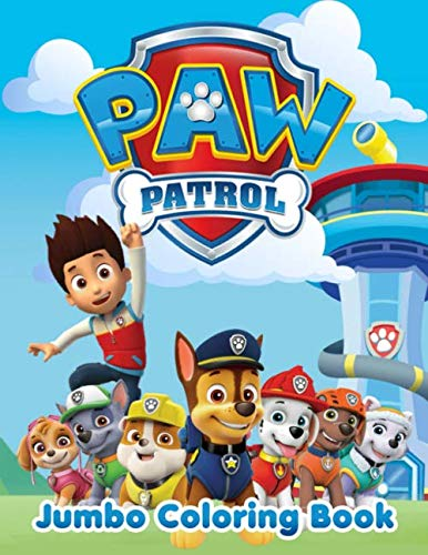 PAW Patrol Jumbo Coloring Book: Great Coloring Pages