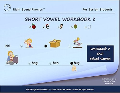Amazon.com: Short Vowel Workbook 2 - Right Sound Phonics: Toys & Games