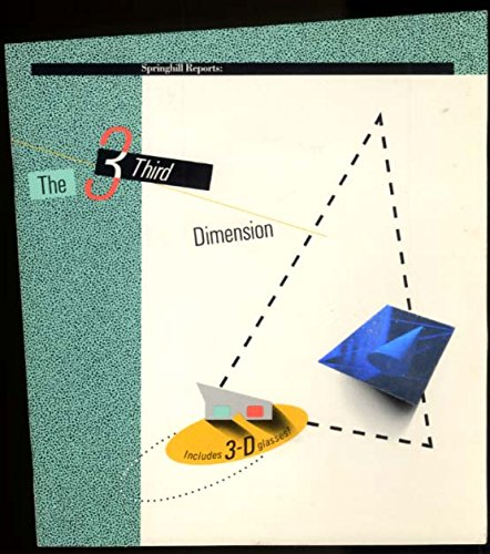 Springhill Paper The Third Dimension paper sample brochure 1985 from The Jumping Frog
