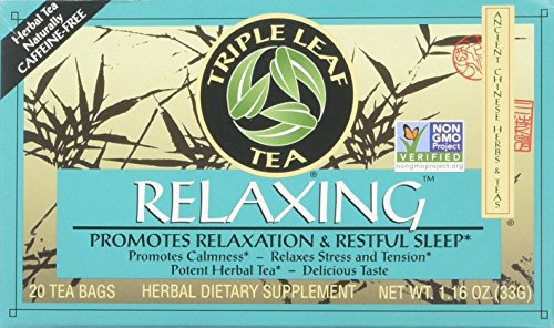 - Chinese Medicinal Tea-Relaxing Herbal Tea Triple Leaf Tea 20 Bag
