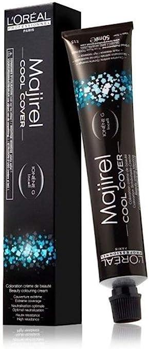 Majirel Cool Cover Coloración permanente en crema para el cabello 9.1 50 ml
