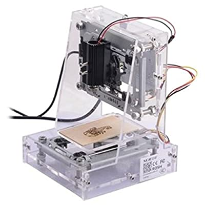 300mw USB DIY Laser Engraver Cutter Engraving Cutting Machine Laser Printer CNC Printer Transparent
