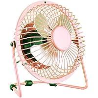 DTOL USB Mini Desk Cooler Fan 6.1 Inch Pink 1 Pack