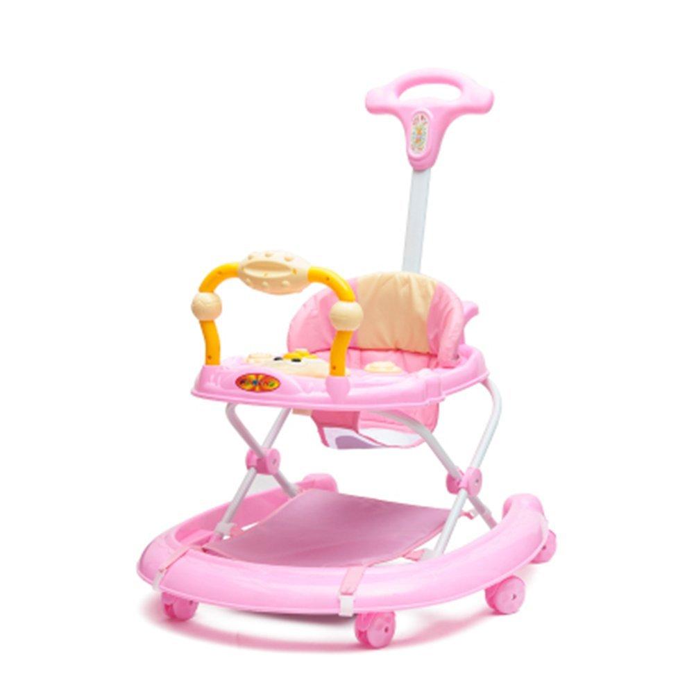 LVZAIXI サンベビーベビーウォーカー/ロッカーステアリングホイール ( 色 : ピンク ぴんく ) B07CR3NQ8S ピンク ぴんく ピンク ぴんく
