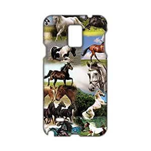 Fortune 3D Case Cover Running Horses Phone Case for Samsung Galaxy Note4
