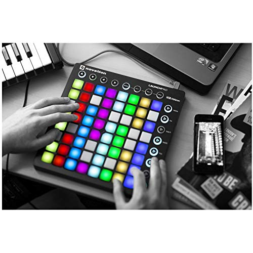 Novation Launchpad Ableton Live Controller with 64 RGB Backlit Pads (8x8 Grid) (Best Project 64 Plugins)