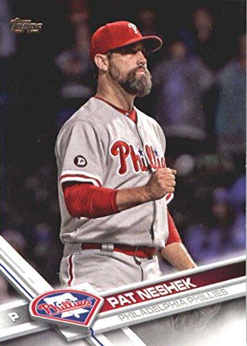 2017 Update Series #US40 Pat Neshek Philadelphia Phillies Baseball Card