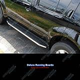 APS RB-HO214S Black & Chrome Nerf Bar Bolt Over for select Honda Pilot Models