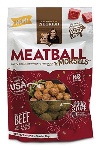Rachael Ray Nutrish Meatball Morsels Grain Free Dog Treats,