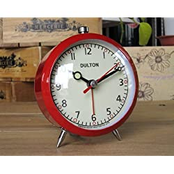 DULTON Alarm Clock RED DT-100-053Q-RD from Japan