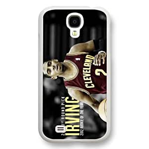 Onelee(TM) - Customized White Hard Plastic Samsung Galaxy S4 Case, NBA Superstar Cleveland Cavaliers Kyrie Irving Samsung Galaxy S4 Case