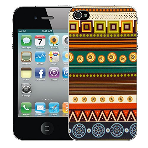 Mobile Case Mate iPhone 5s Silicone Coque couverture case cover Pare-chocs + STYLET - Hereditory pattern (SILICON)