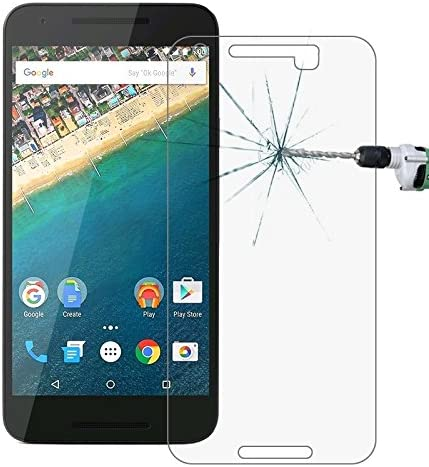 Premium Tempered Glass Screen Film 100 PCS for Google Nexus 5X 0.26mm 9H Surface Hardness 2.5D Explosion-Proof Tempered Glass Screen Film Anti-Scratch Screen Protector
