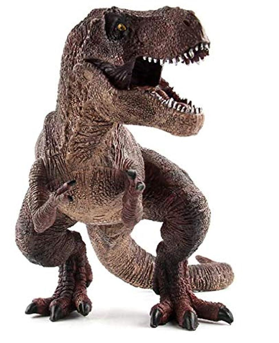 [해외] SANDOLL공룡 피규어 리얼 모형 쥬라기 30㎝급파충 유박력 육식 아이 장난감 선물 디스플레이 반품 안심 보장 부착 (티라노사우루스 퍼터입1) (티라노사우루스 퍼터입1)