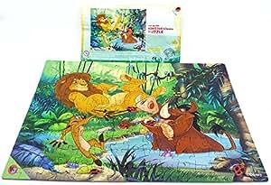 Niños sorpresa máxima de EI Puzzle de El Rey León con notas de Beipack