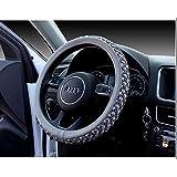 Car Steering Wheel Cover Non-Slip Breathable ice Silk Steering Wheel Cover Four Seasons Universal car Handle