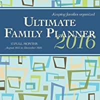 Ultimate Family Planner 2016 Square 12x12