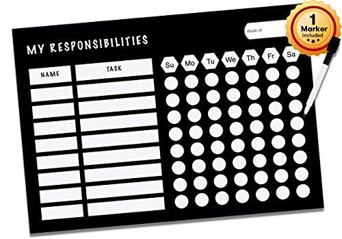 Dry Erase Responsibility Chart Kids product image