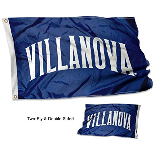 - College Flags and Banners Co. Villanova Wildcats Double Sided Flag