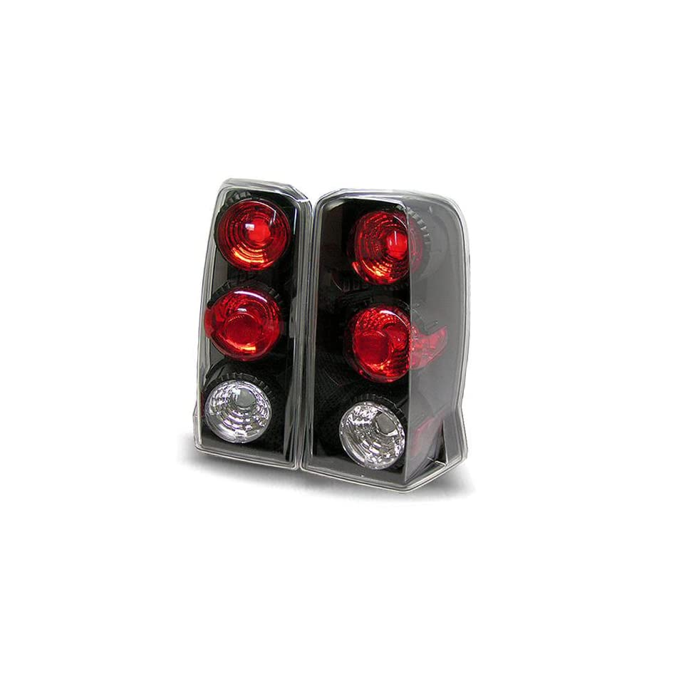 02 06 Cadillac Escalade SUV Black Tail Lights (Not Ext