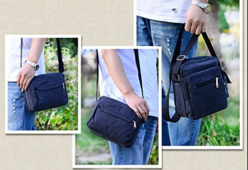 Laidaye Shoulder Travel Blue Business Bag Backpack Messenger Multi Leisure purpose RfqRgxSA1w