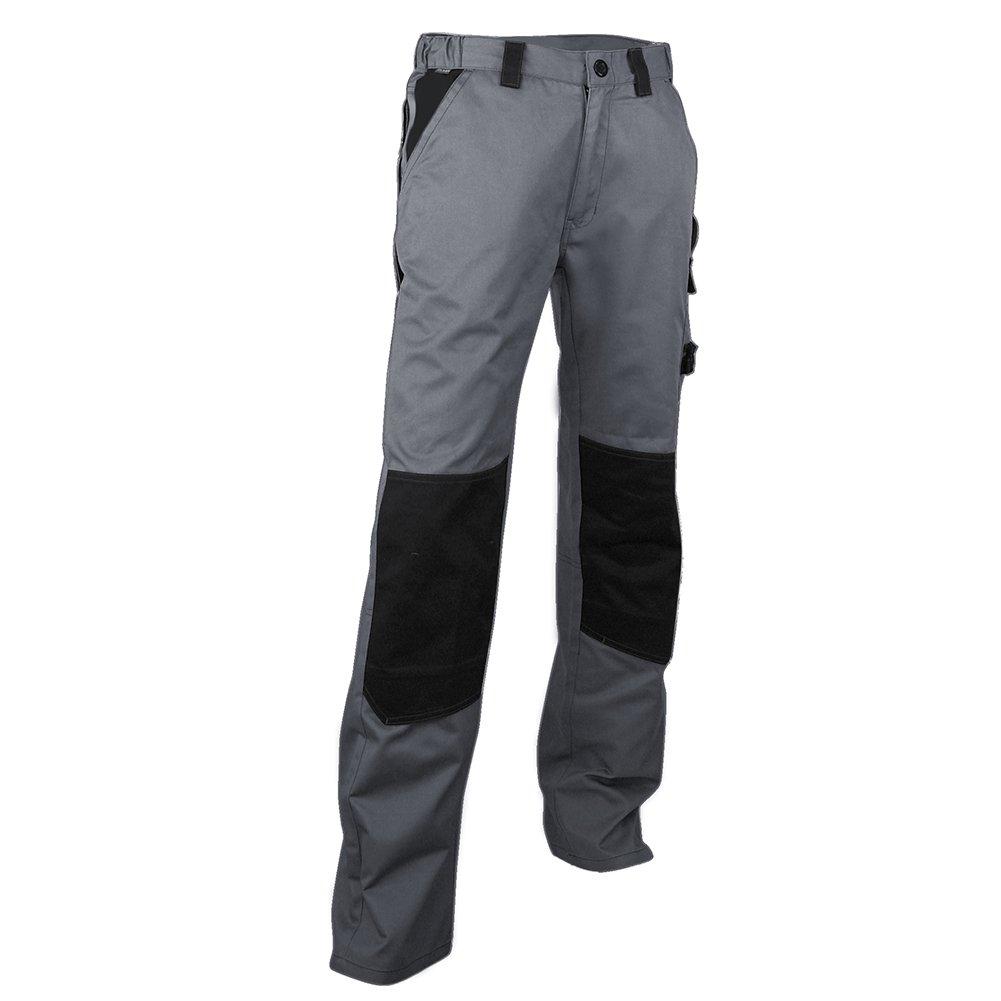 Pantalones de trabajo bicolor gris//negro gris oscuro 40
