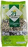 Organic Black Spilt Gram (Urad Dal Black) (2 lbs) [USDA Certified]