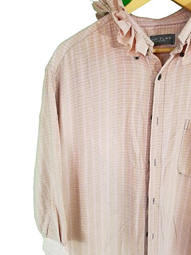 Upcycled Flannel & Vintage Linen Dress
