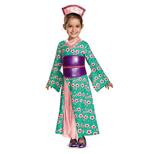 [Disguise 83978M Kimono Princess Toddler Costume, Medium (3T-4T)] (Original Toddler Halloween Costumes)