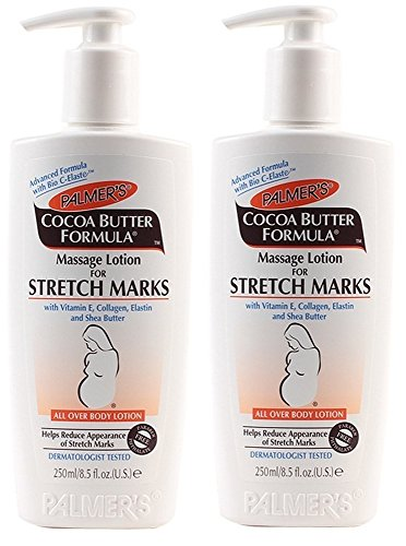 Price comparison product image Palmer's Cocoa Butter Formula Massage Lotion for Stretch Marks, 8.5 Ounce, 2 Pack