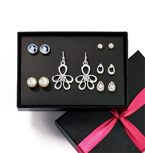 Avon Glamour Everyday 6 Piece Earring Set - Pierced