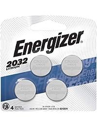 2032 Batteries 3V Lithium, (4 Battery Count) Replaces BR2032, DL2032, ECR2032
