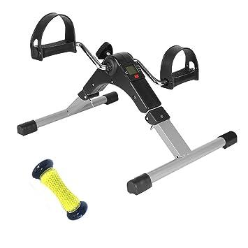 RGFITNESS Stepper Fitness/Elíptico para Escritorio con Monitor de ...
