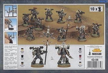 Juegos Taller 99120102055 Chaos Space Marine Squad Mesa y Miniatura Juegos: Amazon.es: Juguetes y juegos