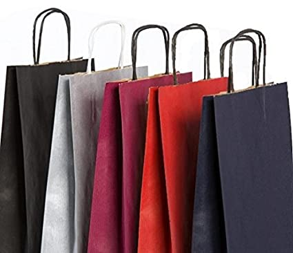5 bolsas de regalo bolsas Varios Colores h39b16t8 cm (de ...