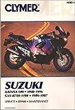 M383-3 Clymer Suzuki Katana 600 1988-1996 GSX-R750-1100 1986-1987 Repair Manual