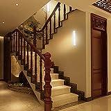 Bonlux LED Sensor Puck Light, Motion Sensing Night Light for Cabinet, Closet, Attics, Hallway, Washroom Lighting (Warm White)