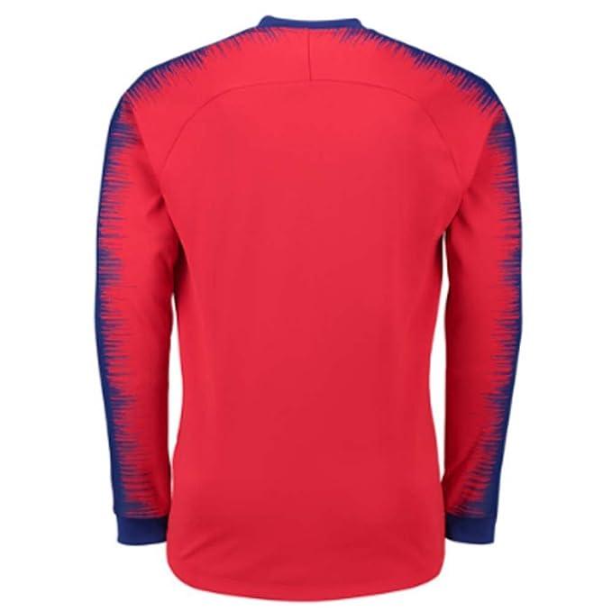 Nike 2018-2019 Atletico Madrid Anthem Jacket (Red): Amazon ...
