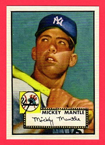 2020 Topps 1952 Reprints - Mickey Mantle 1952 Topps Baseball Rookie Reprint Card (Yankees)