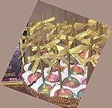 Weststone - Reusable 50pcs Gold Plastic sticks for