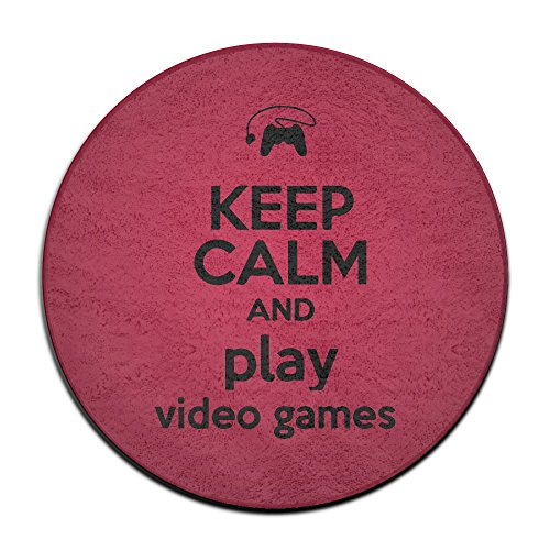 NaDeShop Keep Calm And Play Video Games Doormats / Entrance Rug Floor Mats