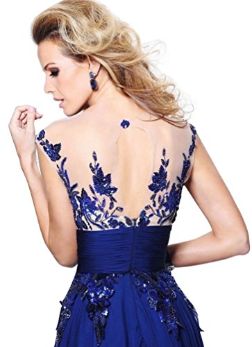 Kleid Beauty Blau Blau Damen Emily YBwxXE6